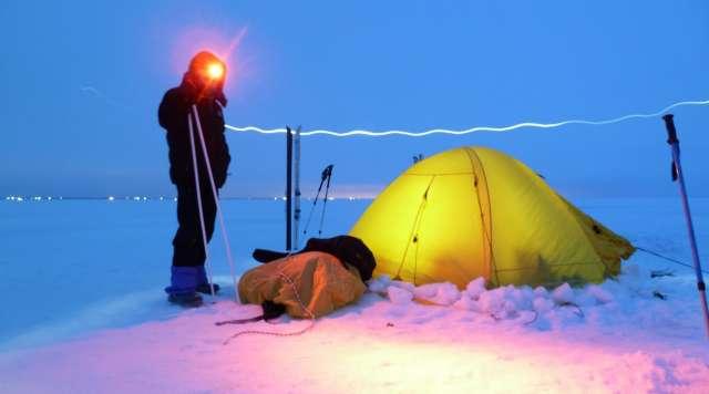 Переходить Ильмень на лыжах будут как группы опытных спортсменов, так и новички, для которых этот поход через озеро станет первым.