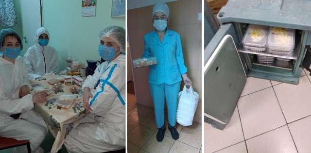 С начала пандемии новгородские партийцы стараются облегчить будни медикам, работающим в сложных условиях