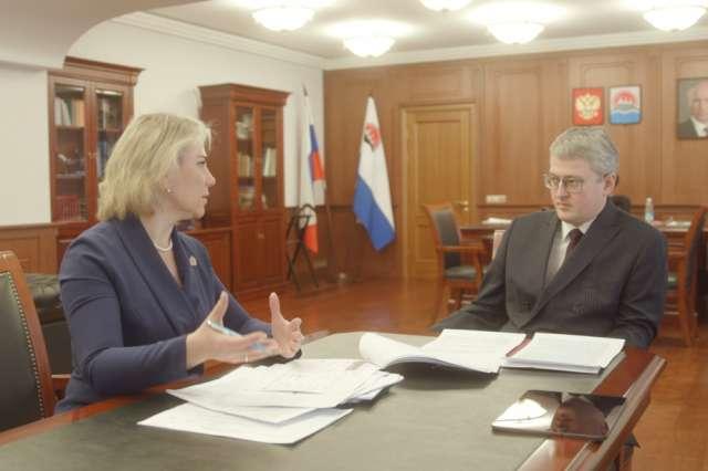 Глава Камчатки встретился с первым заместителем губернатора Новгородской области.
