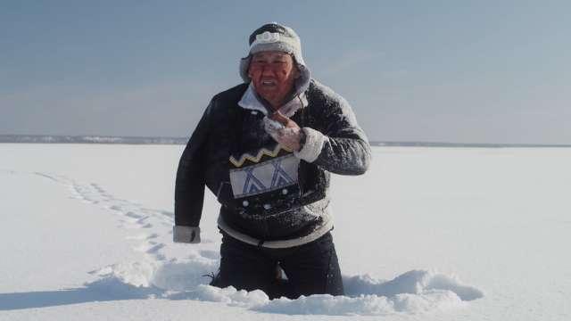 Температура при съёмках фильма опускалась до -45 градусов