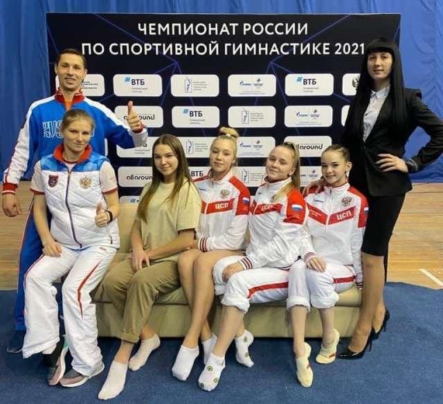 Сейчас тренерская бригада «Манежа» и их подопечные приступают к подготовке гимнасток к Кубку России.