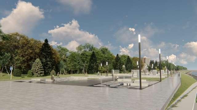 Проект реконструкции набережной Александра Невского в Великом Новгороде