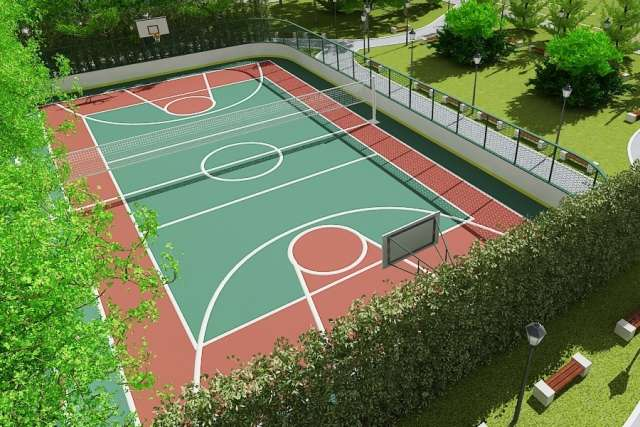 Спортивная площадка должна быть готова к сдаче в эксплуатацию до 30 июня 2021 года.
