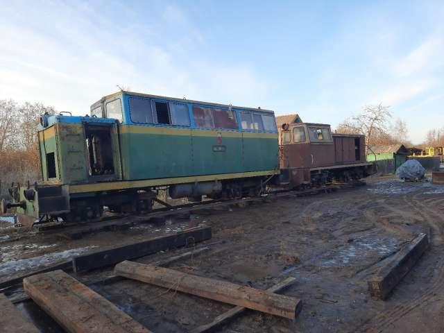 Тепловозы эксплуатировались на лесовозной узкоколейной железной дороге в Нижегородской области