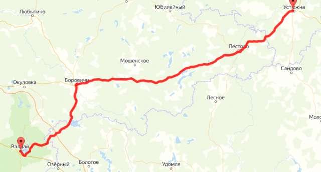В Боровичском районе проведут ремонт на участке дороги Устюжна – Валдай
