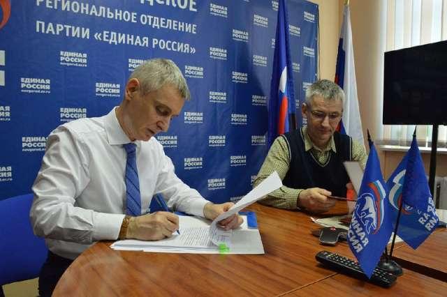 Новгородский сенатор Сергей Фабричный будет участвовать в праймериз «Единой России»