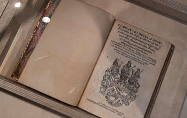 Книга записок барона появилась на выставке не случайно: к ней была приложена карта