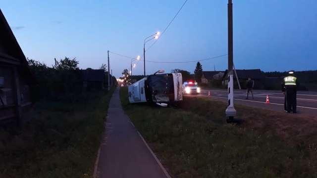 Всего в автобусе находилось 36 человек