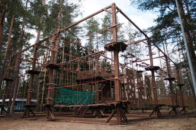 Всего в арсенале компании Outdoor-Team более 100 готовых верёвочных парков.