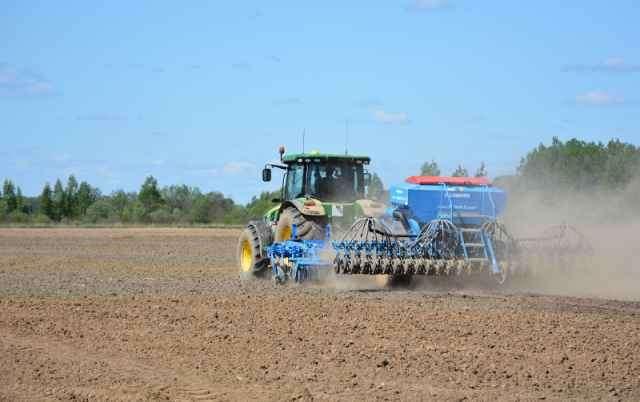 К 4 июня аграрии Новгородской области провели яровой сев на площади 20,5 тысяч га.