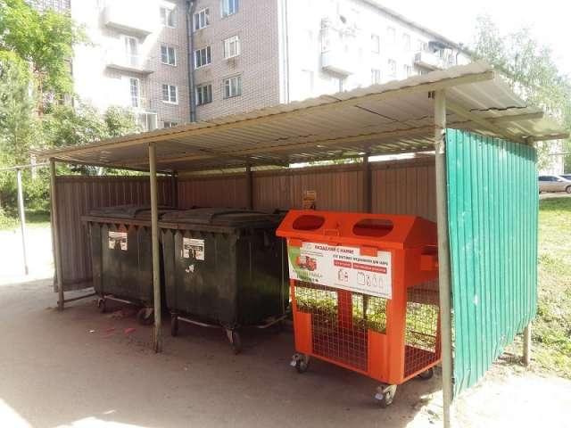 В Боровичском районе начали установку контейнеров для раздельного сбора отходов
