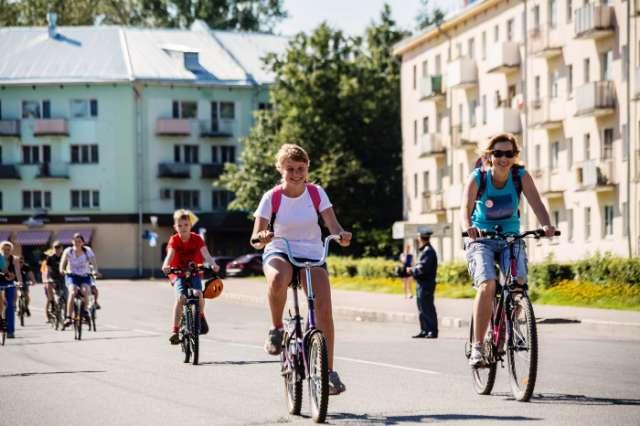 В велопробеге могут принять участие все желающие.