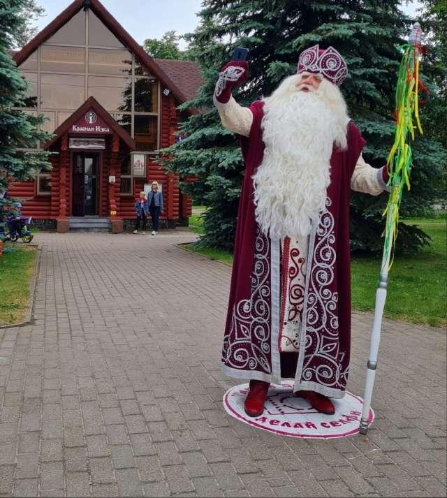Главный Дед Мороз России гостит в Великом Новгороде