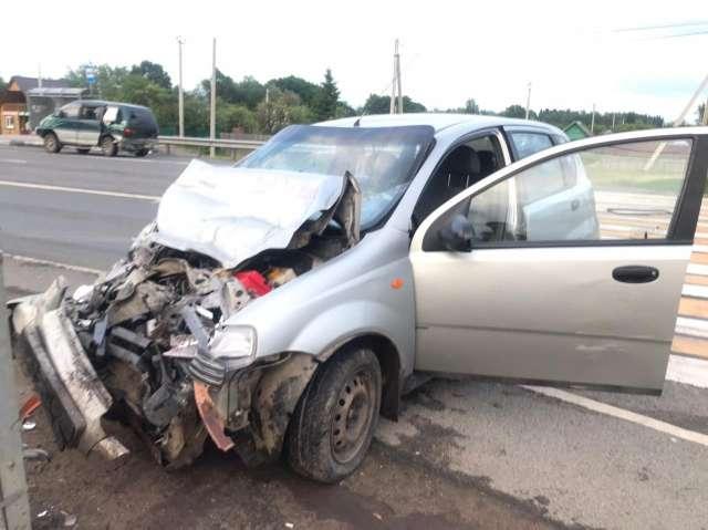 В результате ДТП водителям оказана медицинская помощь на месте происшествия