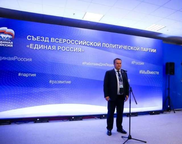 Группу кандидатов ЕР от Новгородской и Вологодской областей возглавил  Андрей Никитин.