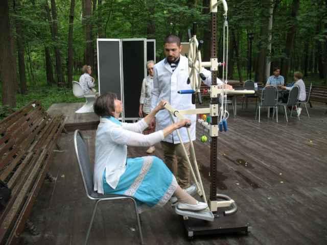 Тренажёр для восстановления после инсульта «Капитан».