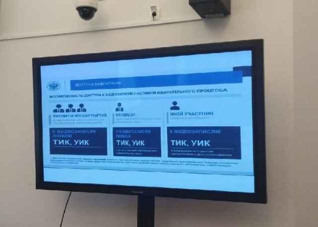 Весь объём видеоинформации, накопленный за три дня голосования, передадут в ЦИК.