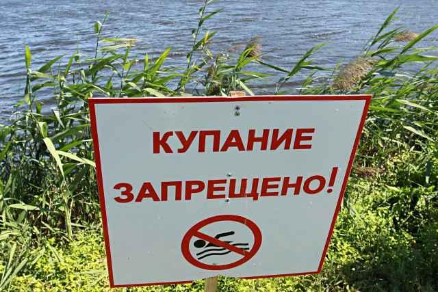 За купание в запрещённых местах положен штраф от 500 до 1 тысячи рублей.