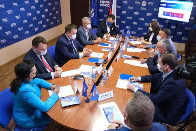 Андрей Никитин дал старт сбора инициатив и предложений в народную программу партии в Новгородской области.