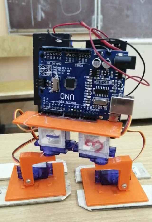 Итогом стараний школьницы стал созданный ею робот-разведчик РР 1.1 «Боря».