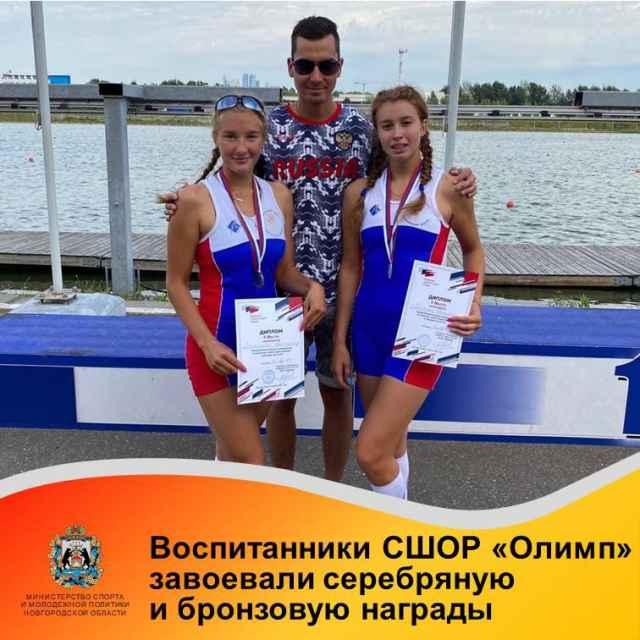Второе время на финише заезда парных двоек лёгкого веса показала Анастасия Якунина вместе с напарницей из Санкт-Петербурга Алиной Карповой