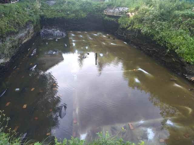 Благодаря дождливой погоде Пятницкий раскоп законсервировался очень быстро.