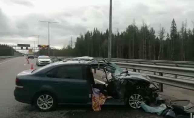 В ДТП пострадала пассажирка легкового автомобиля.
