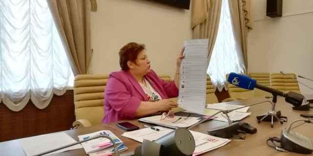 Избирательная комиссия Новгородской области утвердила формат и цвет бюллетеней на предстоящих выборах.