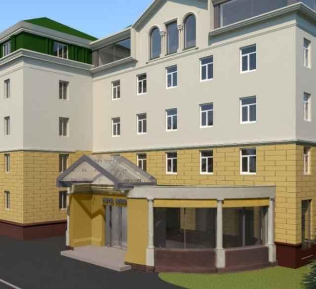 В отеле будет 54 номера, рассчитанных на проживание 70 человек. Они будут включать 16 номеров высшей категории и 38 номеров «стандарт».