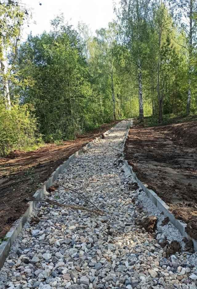 Благоустройство парка «У Вишерки» в Малой Вишере районная администрация намерена провести в два этапа.