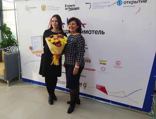 Ксения Шмандина получила по итогам проекта грант в 100 тысяч рублей на реализацию своего бизнес-проекта.