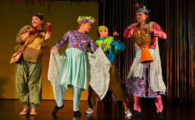 Спектакль о приключениях бесстрашного мангуста получился ярким и музыкальным.