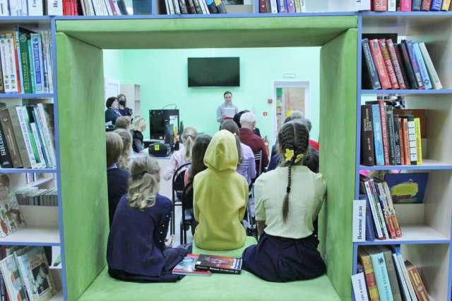 В Великом Новгороде открылась первая в городе модельная библиотека