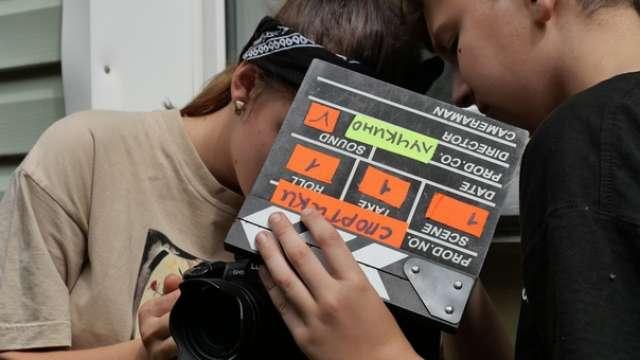 За 7 дней работы лагеря юные кинематографисты создадут полноценный фильм