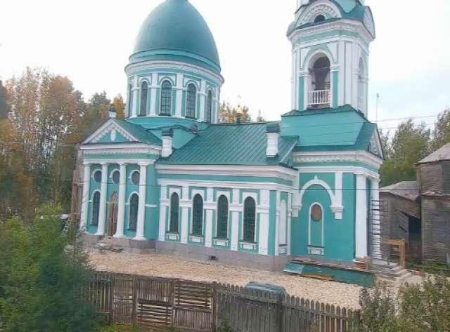 Храм в боровичской деревне Сопины, построенный на средства Суворова, отреставрировали