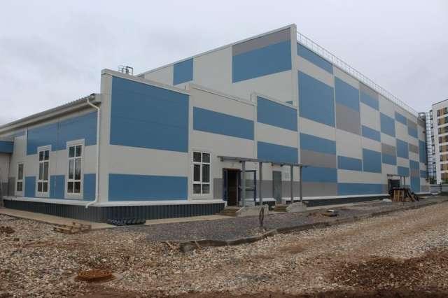 В состав физкультурно-спортивного комплекса войдут спортивный зал и административный блок.