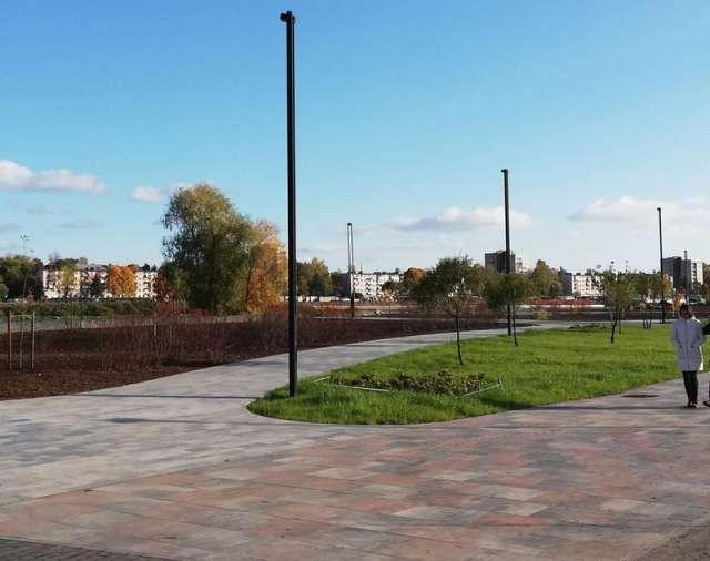 Окончание работ на набережной намечено на конец октября.