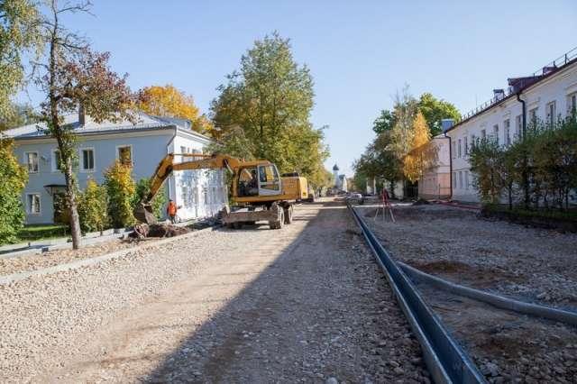 Благоустройство  Ильиной улицы должны завершить в конце ноября.