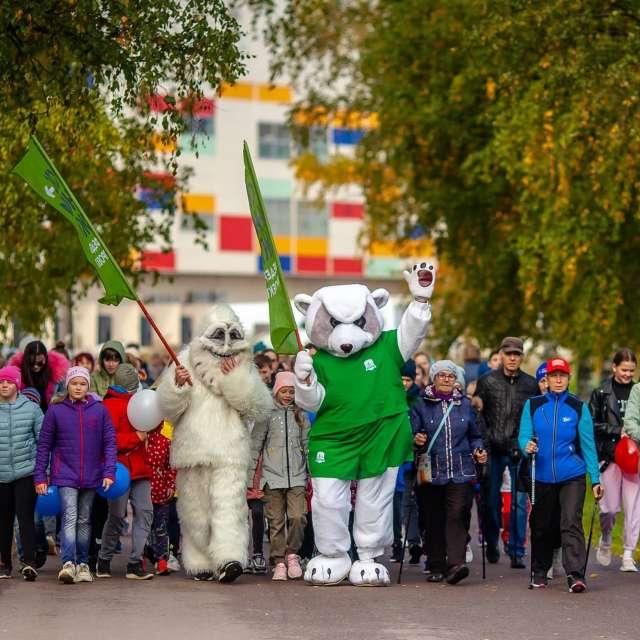 Всероссийский день ходьбы проводится в России с 2015 года под патронатом Олимпийского комитета России.