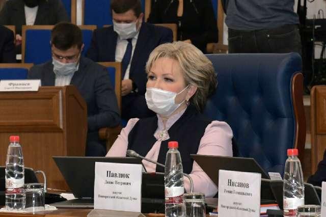 Новым сенатором от Новгородской области стала Елена Писарева