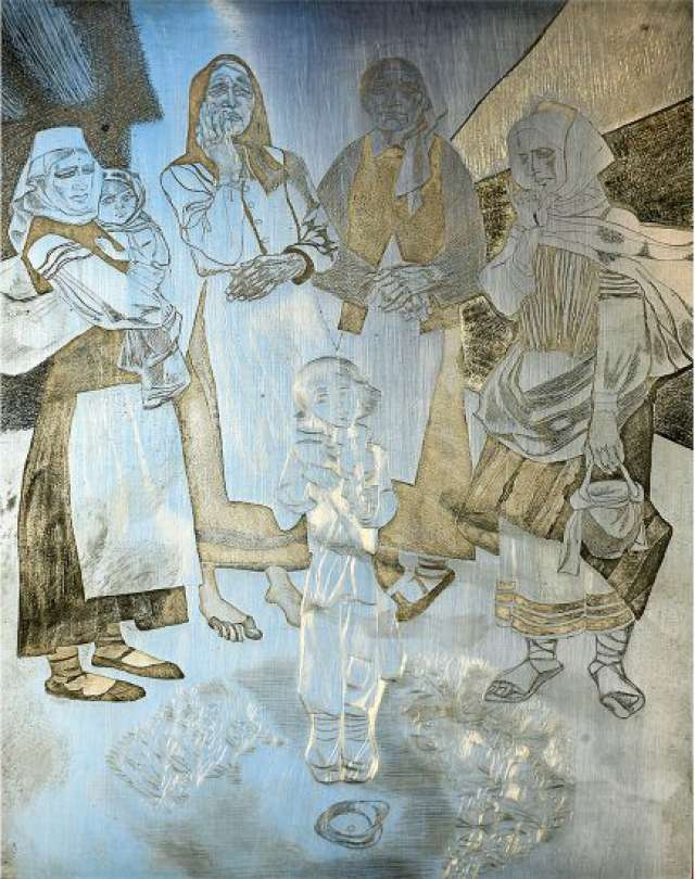Белорусского графика Георгия Поплавского называли романтиком «сурового стиля».