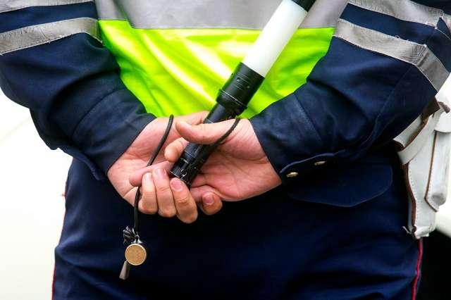 Мужчина пытался натравить на сотрудников полиции собаку, которая находилась в его автомобиле.