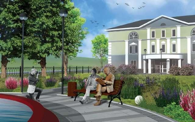 Образ «читателя», который присядет на скамейку в сквере, разработал новгородский скульптор Вадим Боровых.
