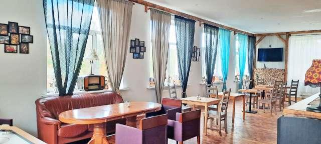Предприниматель Дмитрий Елькин из Санкт-Петербург открыл в селе Зарубино гостиницу и кафе.