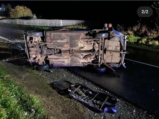 В результатеаварии водитель с телесными повреждениями доставлен в Боровичскую ЦРБ, после чего  отпущен