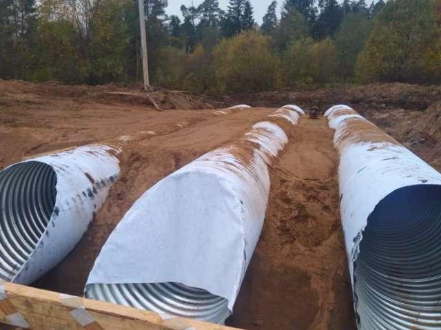 На первом участке протяженностью 200 метров выполнены подготовительные работы