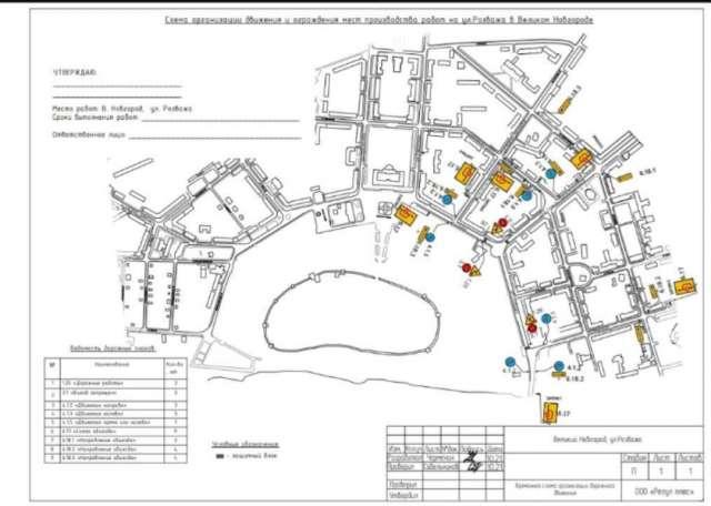 Городскому хозяйству поручено перевести в режим «жёлтого мигания» на время производства работ светофор на пересечении улиц Великая - Козьмодемьянская.
